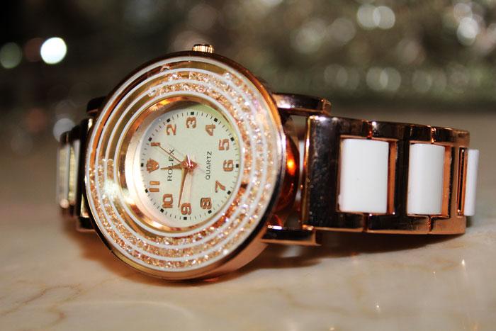 ساعت رولکس زنانه شاینی