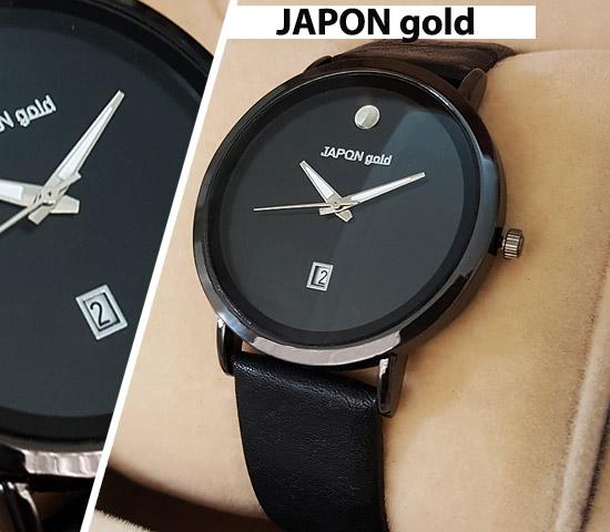 ساعت مچی مدل JAPON gold (مشکی)