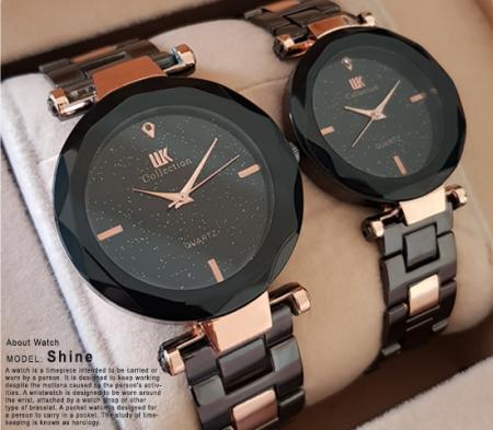 ست ساعت مچی Collection مدل Shine (مسی مشکی)