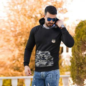 سویشرت مردانه ارتشی Laxpp