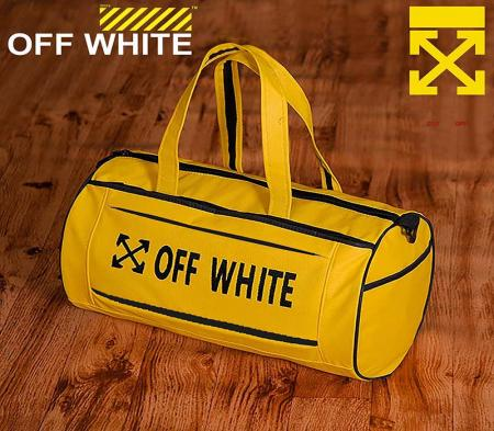 ساک ورزشی Off white (زرد)