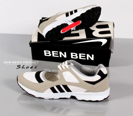 کفش مردانه مدل Tores (سفید طوسی)